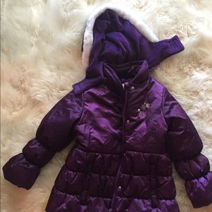 Purple coat